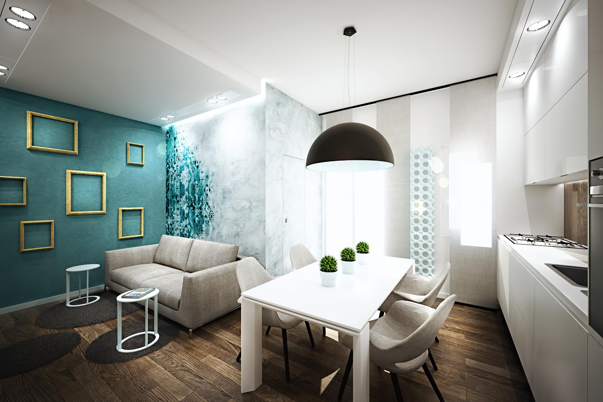 Turquoise Donkey Apartment